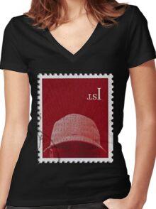 skepta konnichiwa  Women's Fitted V-Neck T-Shirt
