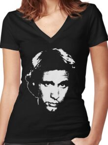 Chevy Chase Women's Fitted V-Neck T-Shirt
