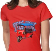 Best First Car for a Millennial is Tuk-Tuk! Womens Fitted T-Shirt