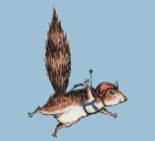 Skydiver Squirrel One Piece - Short Sleeve