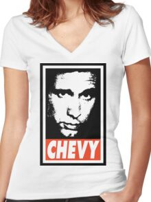 Chevy Women's Fitted V-Neck T-Shirt