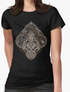 Cosmic Nirvana - Black Womens Fitted T-Shirt