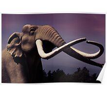 mammoth elephant Poster