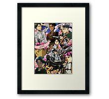Levi Ackerman Collage Framed Print