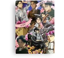 Levi Ackerman Collage Metal Print