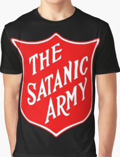 Satanic Army Salvo Shield Graphic T-Shirt