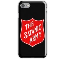 Satanic Army Salvo Shield iPhone Case/Skin