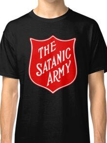 Satanic Army Salvo Shield Classic T-Shirt