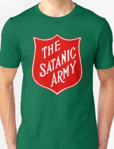 Satanic Army Salvo Shield T-Shirt