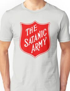 Satanic Army Salvo Shield Unisex T-Shirt