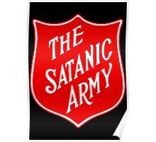 Satanic Army Salvo Shield Poster
