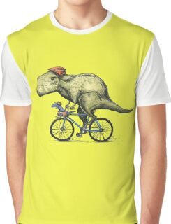 T-rex Bikers Graphic T-Shirt