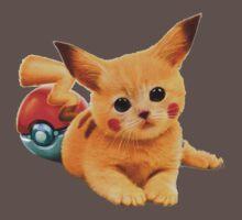 Pikachu the Kitty One Piece - Short Sleeve