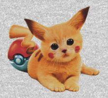 Pikachu the Kitty One Piece - Long Sleeve