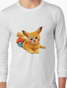Pikachu the Kitty Long Sleeve T-Shirt