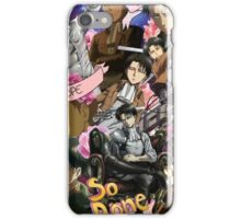 Levi Ackerman Collage iPhone Case/Skin