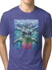 Under Water Tri-blend T-Shirt