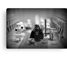 Lord Vader Clean Up In Aisle Six Canvas Print