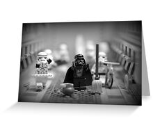 Lord Vader Clean Up In Aisle Six Greeting Card