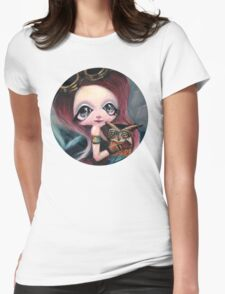 Steampunk Ariel Womens Fitted T-Shirt