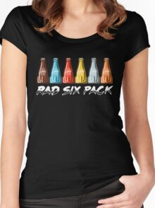 RAD SIX PACK Women's Fitted Scoop T-Shirt