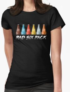 RAD SIX PACK Womens Fitted T-Shirt