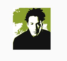 Keanu Reeves in the Matrix, Green Color Classic T-Shirt