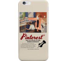 Vintage-Style Pinterest Ad iPhone Case/Skin