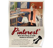Vintage-Style Pinterest Ad Poster