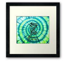 Grateful Dead Tie dye Framed Print