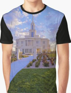 Payson Temple I Graphic T-Shirt