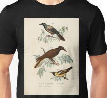 Bilder atlas zur Wissenschaftlich populären Naturgeschichte der Vögel in ihren sämmtlichen Hauptformen Leopold Joseph Fitzinger 1864 063 Unisex T-Shirt