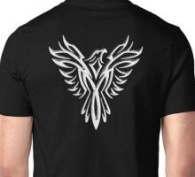 Phoenix, Phenix, Legend, Bird, Rising from the flames, Mythology, WHITE Unisex T-Shirt