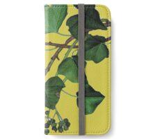 ivy leaves iPhone Wallet/Case/Skin