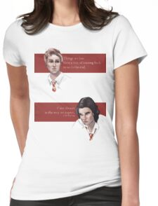 Remus and Sirius Womens Fitted T-Shirt