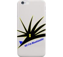 Bluetooth bug vector with text iPhone Case/Skin