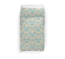 Vintage wallpaper pattern. Abstract floral ornament. Duvet Cover