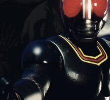 Kamen Rider Black Fight Sticker