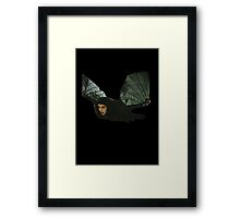 kate bush bat Framed Print