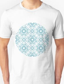 Vintage wallpaper pattern. Abstract floral ornament. Unisex T-Shirt