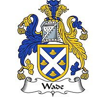 Wade Coat of Arms / Wade Family Crest Photographic Print