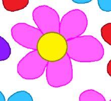 Flowers! Sticker