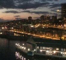 Seattle Waterfront Sticker