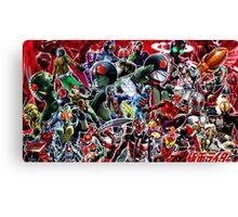 Kamen Rider Final Canvas Print