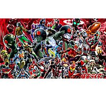 Kamen Rider Final Photographic Print