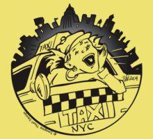 Taxi Girl Baby Tee