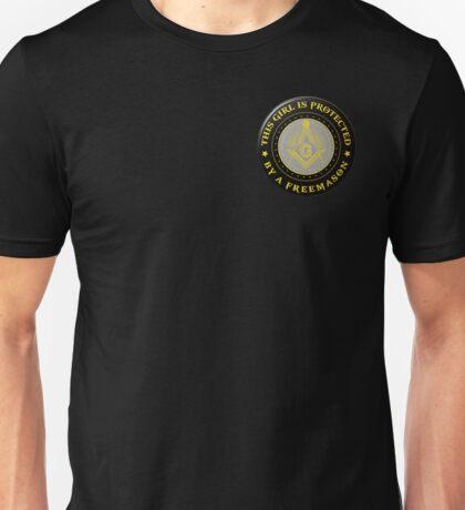 Protected by Freemason Unisex T-Shirt