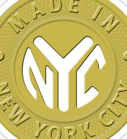 Made In New York Sticker