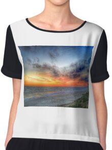 Sunset HDR Carlsbad Chiffon Top