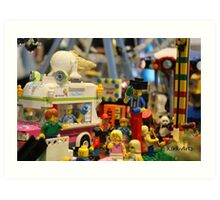 Lego City Art Print